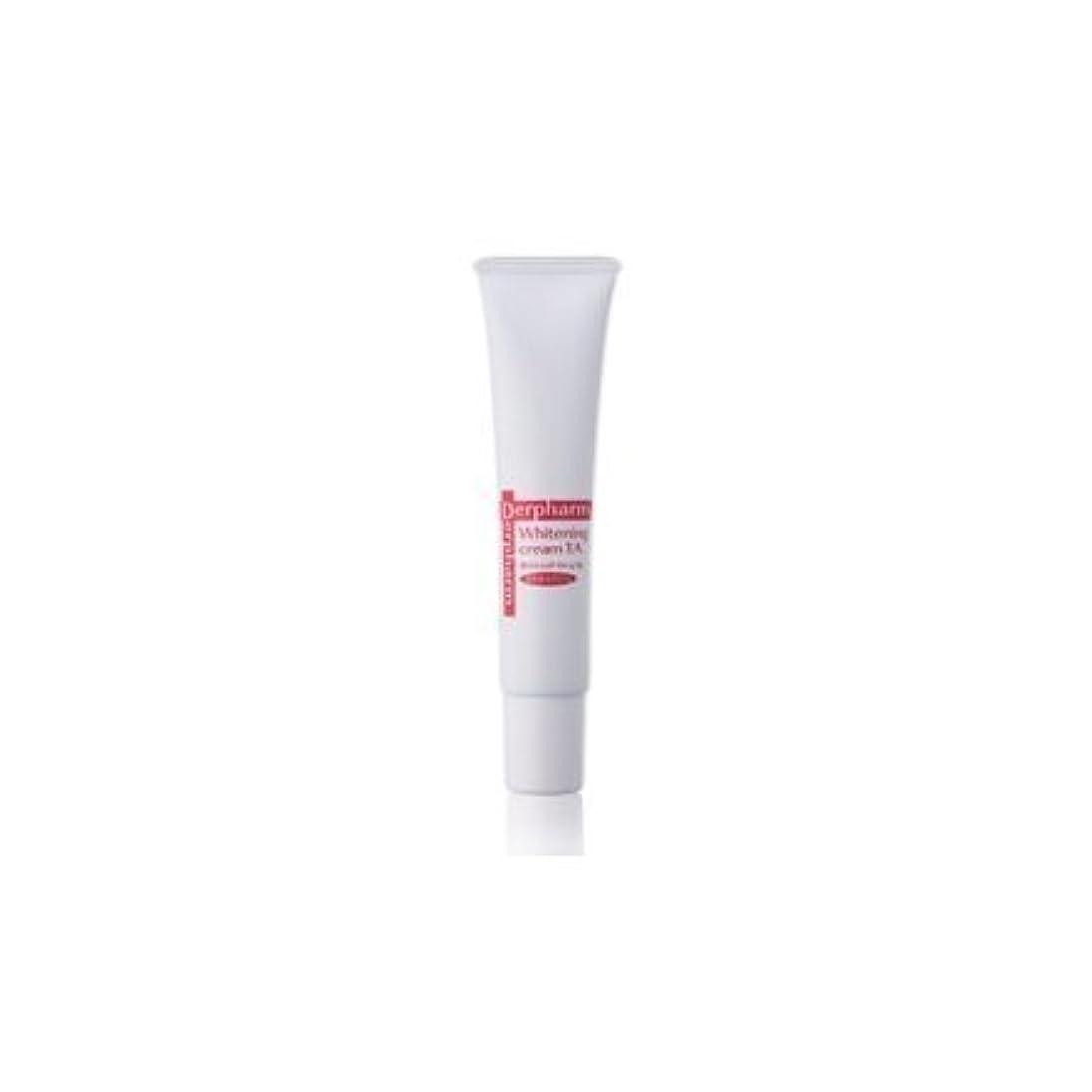 受粉するクリップ小屋デルファーマ ホワイトニング クリーム TA (医薬部外品)