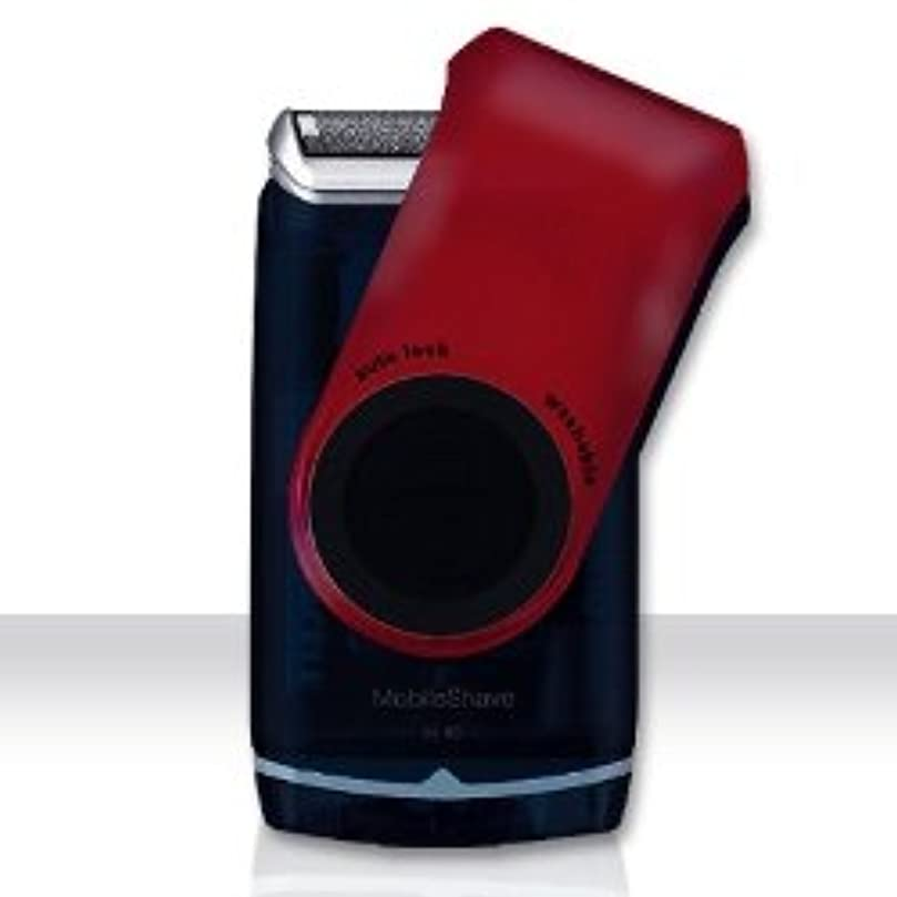 ご近所死すべき援助するブラウン モバイル ポケット シェーバー M60 赤 電池式 並行輸入品