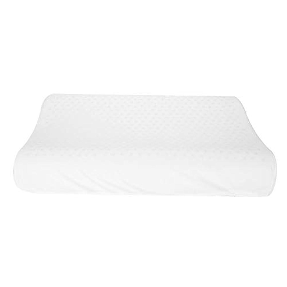 ラテックス、自然な乳液の枕大きい版のカーブの波の大人の首のマッサージの枕ヘルスケア