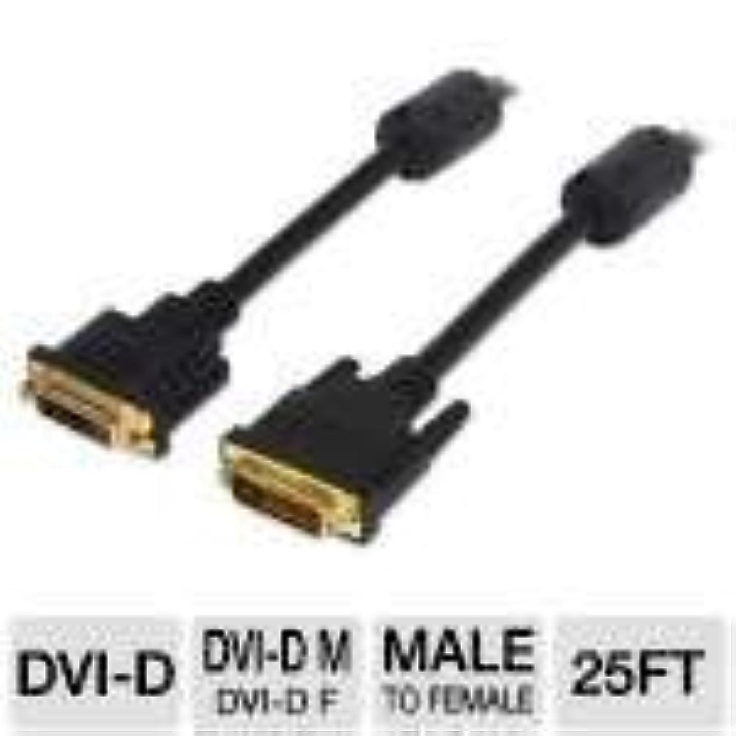 混乱異議均等にDVI - Dデュアルリンク拡張24-pinオス/メス25 ft