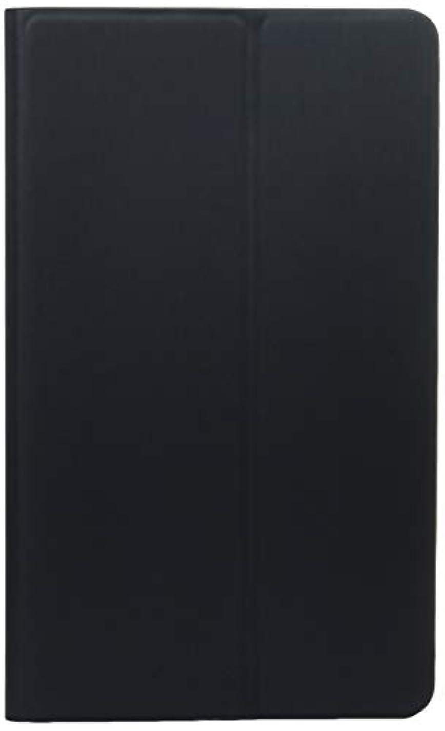 ポルノ水平漂流レイ?アウト SC-03G GALAXY Tab S 8.4 フラップレザージャケット(合皮) ブラック RT-GTABS8LC1/B