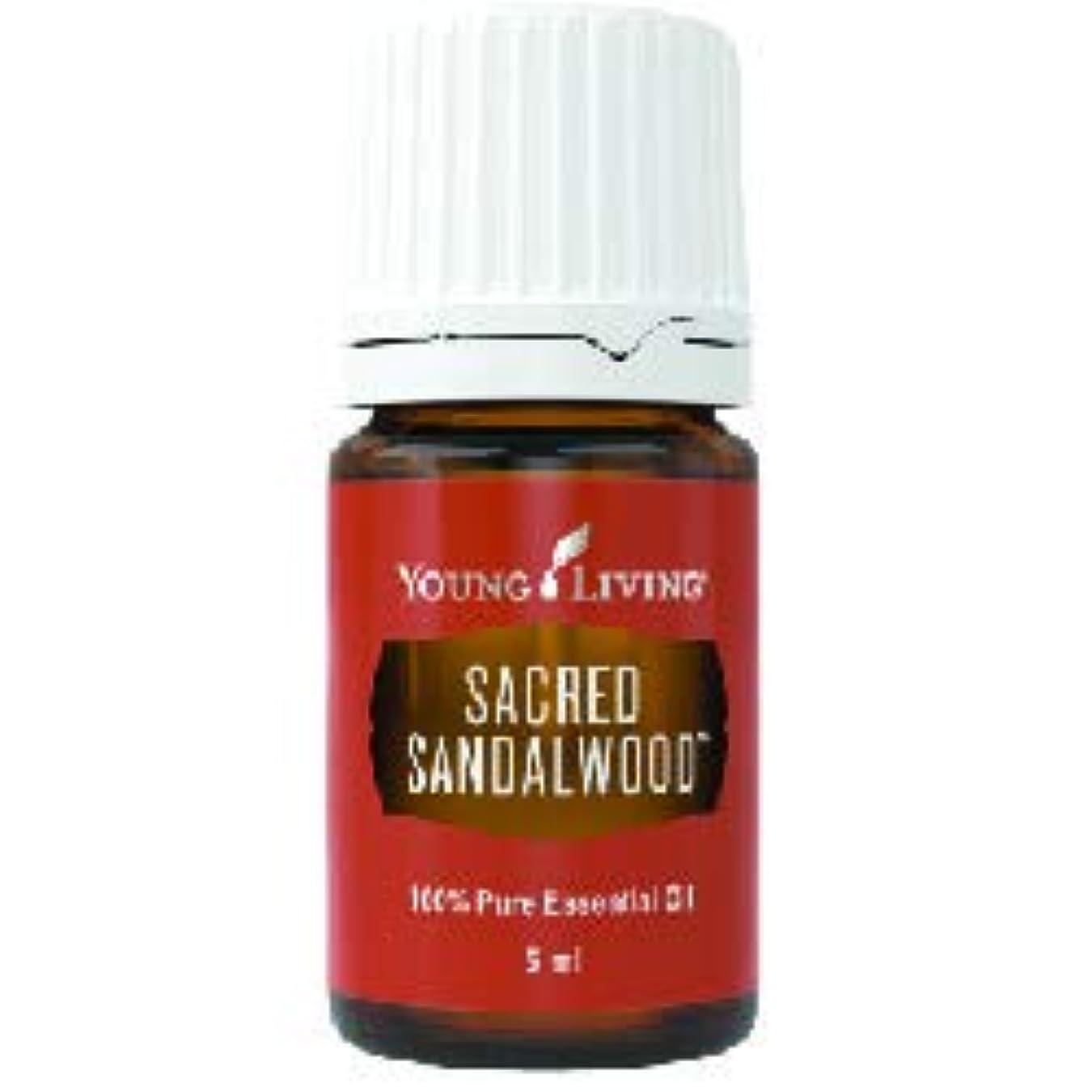 トロイの木馬無臭届けるセイクリッドサンダルウッドエッセンシャルオイル 5 ml ヤングリビングエッセンシャルオイルマレーシア Sacred Sandalwood Essential Oil 5ml by Young Living Essential...
