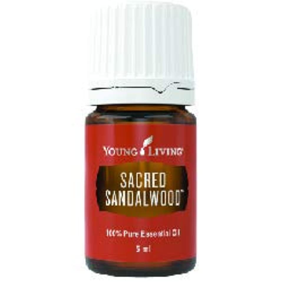 ほぼ記念反毒セイクリッドサンダルウッドエッセンシャルオイル 5 ml ヤングリビングエッセンシャルオイルマレーシア Sacred Sandalwood Essential Oil 5ml by Young Living Essential...