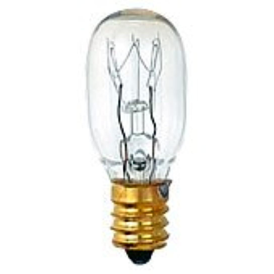 くぼみリズミカルな溢れんばかりの生活の木 アロマランプM用 電球[15W]