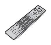 【部品】三菱電機 液晶テレビ リモコン M01290P19501 対応機種:LCD-40MDR2 LCD-46MDR2 LCD-55MDR2