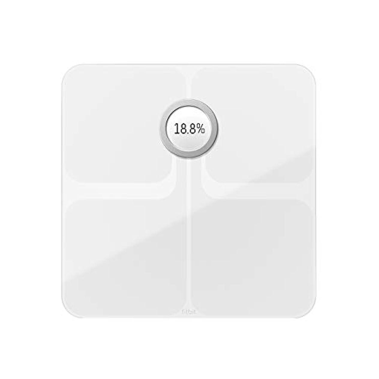 溶岩キリマンジャロ笑いFitbit フィットビット スマート体重計 Aria2 WiFi/Bluetooth対応 White【日本正規品】 FB202WT-JP