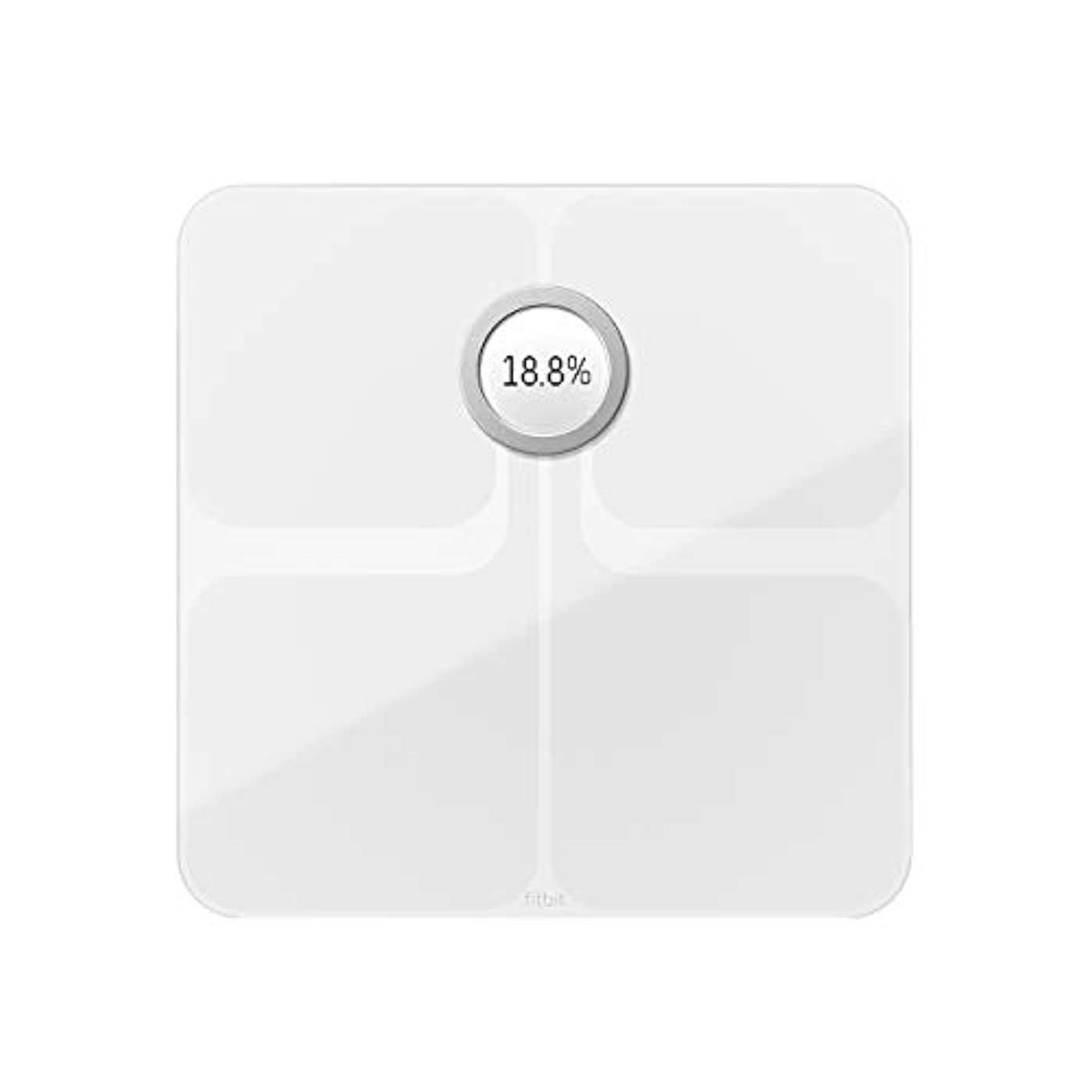 アクセルうなる着替えるFitbit フィットビット スマート体重計 Aria2 WiFi/Bluetooth対応 White【日本正規品】 FB202WT-JP