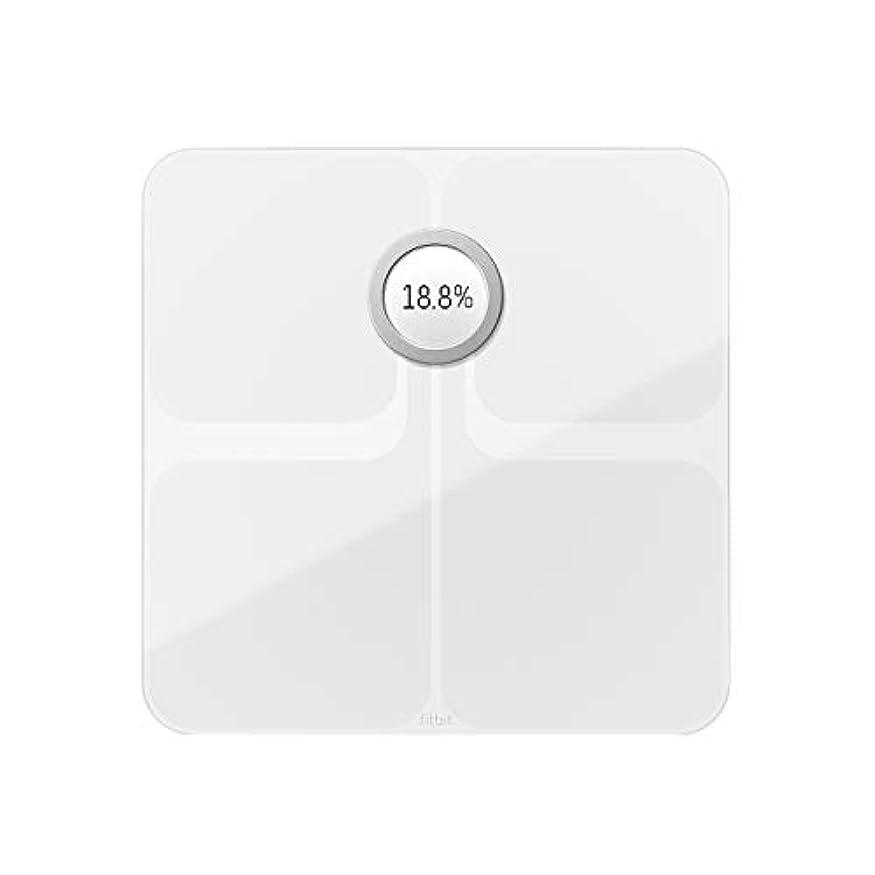 電卓四回マーカーFitbit フィットビット スマート体重計 Aria2 WiFi/Bluetooth対応 White【日本正規品】 FB202WT-JP