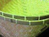 てみ天然竹、大型60x52xH22,5cm。保管湿気ないところで、竹浄水炭20枚付