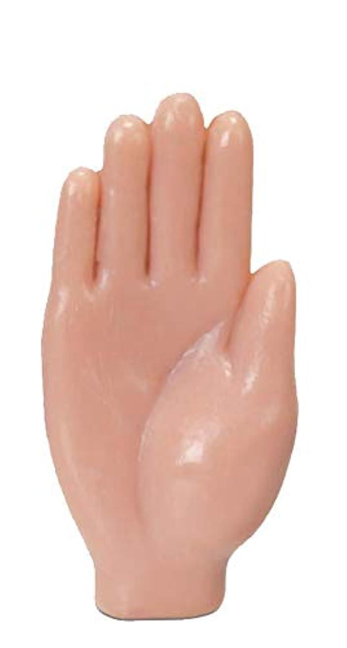 非効率的なつかの間結婚した手の形をしたハンドソープ