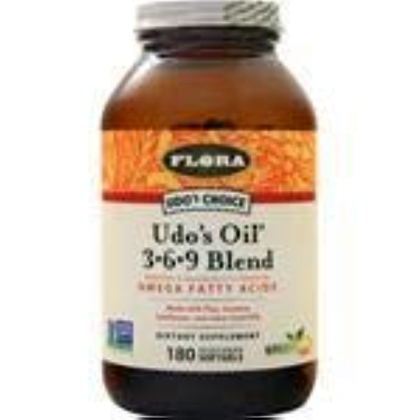 フィルタ消毒する肝Udo's オイル3-6-9 ブレンド 180 sgels 2個パック