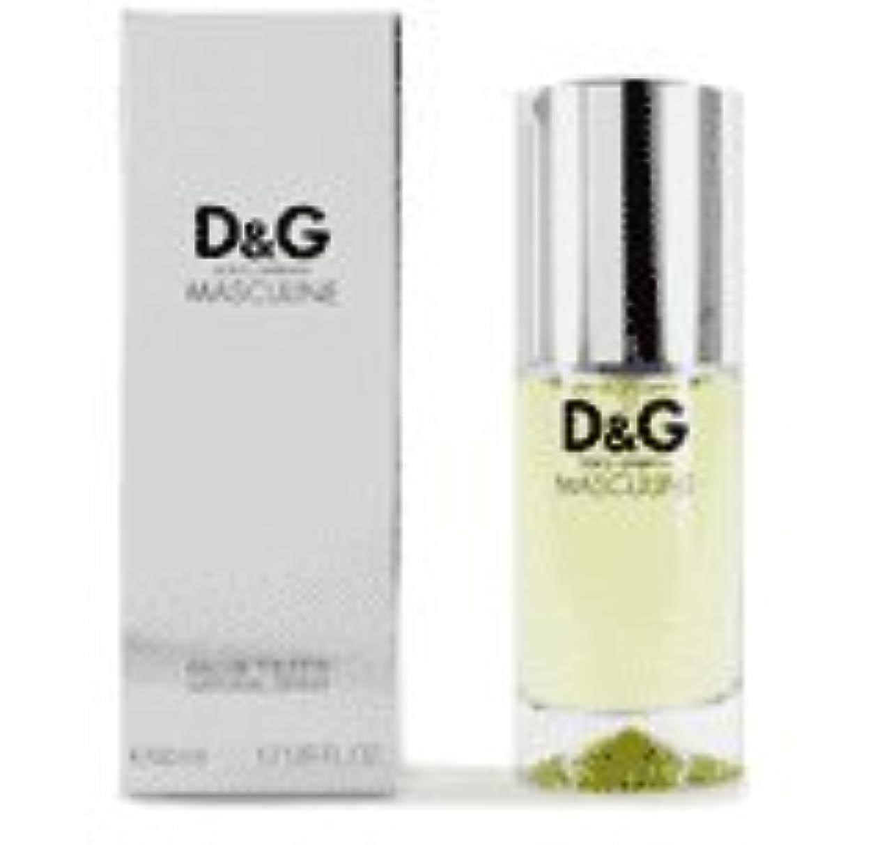 近所の選択する恥ずかしさD & G Masculine (D&G マスキュライン) 3.4 oz (100ml) EDT Spray for Men
