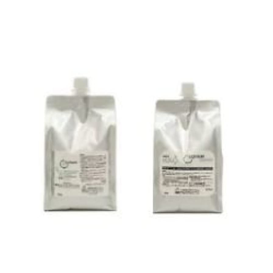 黒擬人化蜂ナカノ 薬用コリュームシャンプー 1500ml & リペアメント 1500g セット