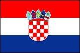 世界の国旗 クロアチア国旗 90×150cm
