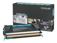 Lexmark lexc736h1cg Lexmark Br c736N–1-hi RTN PROGシアン