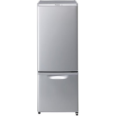 パナソニック 168L 2ドア冷蔵庫(シルバー)【右開き】Pa...