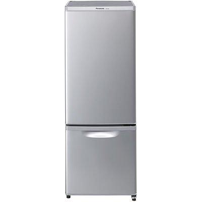 パナソニック 168L パーソナル冷蔵庫 2ドア 右開き シルバー NR-B179W-S
