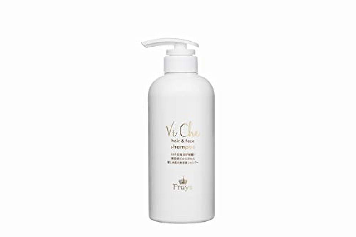 正確に貫通する光沢のあるViChe hair&face shampoo 500ml