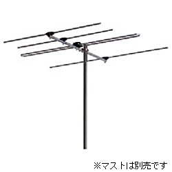 日本アンテナ FMアンテナ 水平受信用 強電界向け 小型普及型 4素子 AF-4
