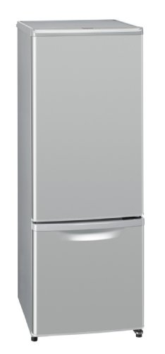 Panasonic 168L 2ドア パーソナルタイプ 冷蔵庫 シルバー NR-B174W-S