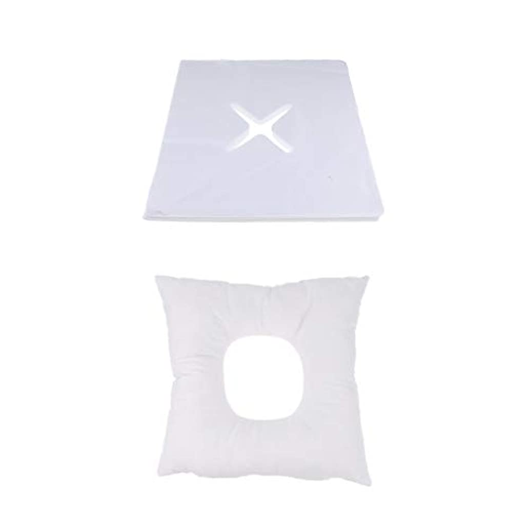 スキッパーなのですすり泣きD DOLITY マッサージ枕 顔枕 フェイスマット 200個使い捨てカバー付き 柔らかく快適