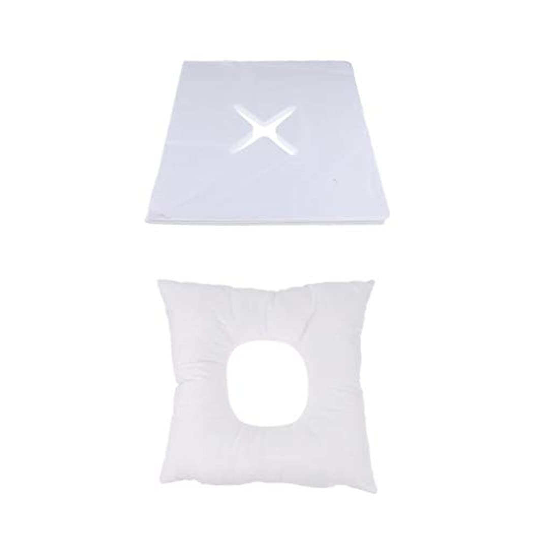 特別にウォルターカニンガム雇ったD DOLITY マッサージ枕 顔枕 フェイスマット 200個使い捨てカバー付き 柔らかく快適