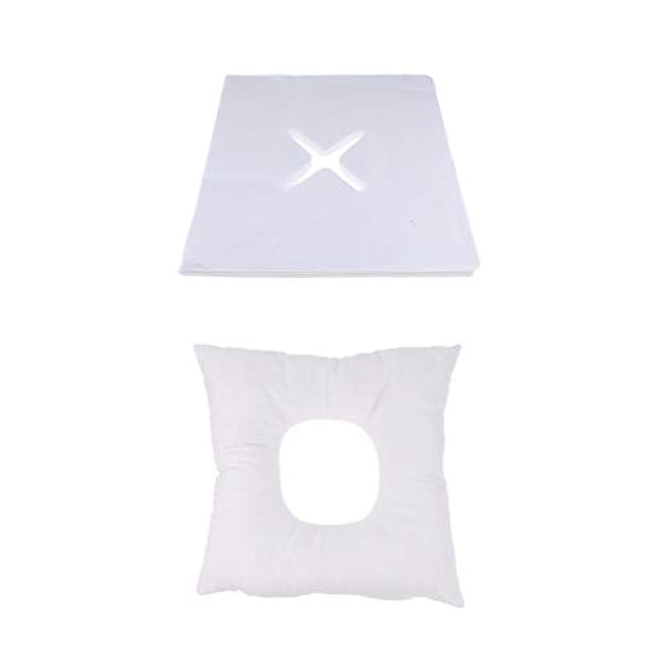 三番インサート電話に出るマッサージ枕 顔枕 フェイスマット 200個使い捨てカバー付き 柔らかく快適