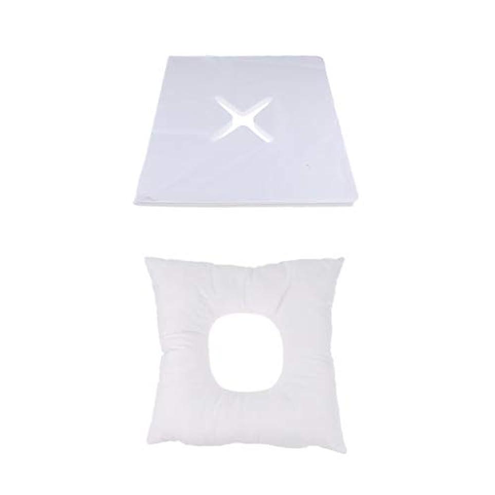 ためらう広範囲に夫婦D DOLITY マッサージ枕 顔枕 フェイスマット 200個使い捨てカバー付き 柔らかく快適