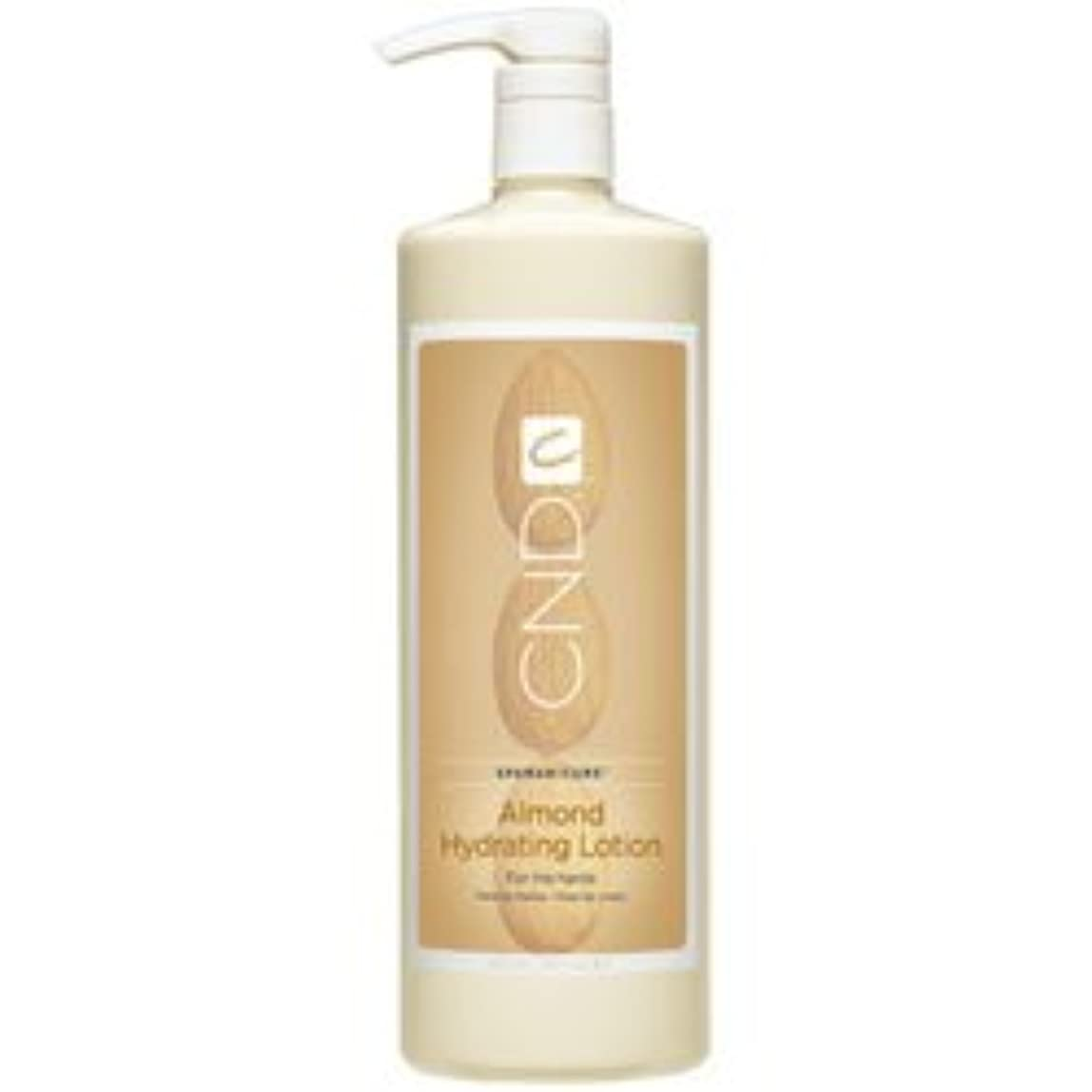 のスコア百科事典外側CND SpaManicure - Almond Hydrating Lotion - 33oz