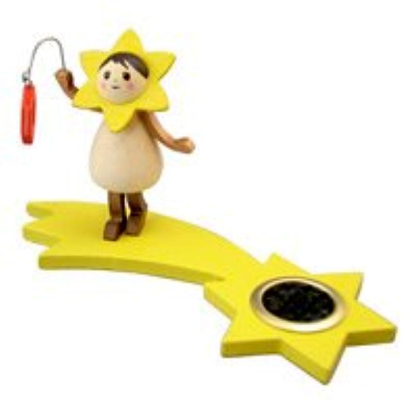 避難クルー摘むインセンススタンド(香皿) 星の妖精 ランプ(立ち) 【クーネルト】
