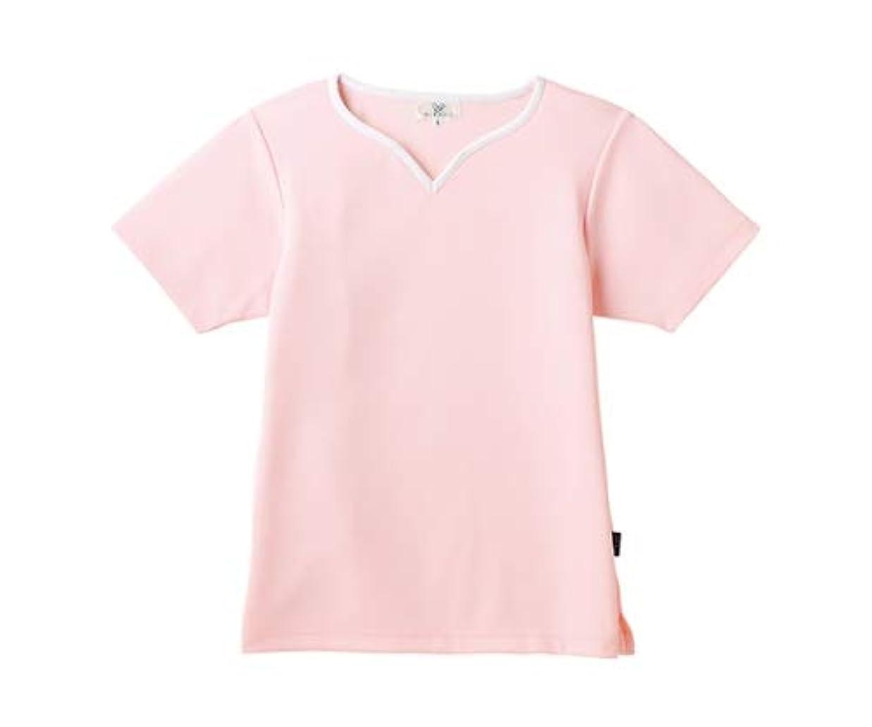 熟達した小麦粉療法トンボ/KIRAKU レディス入浴介助用シャツ CR161 3L ピンク