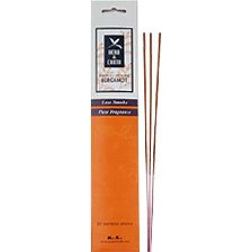 ワーカー希望に満ちた懐Herb & Earth Bamboo Incenseベルガモット20 Sticks