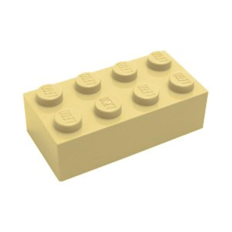 レゴブロックパーツ ブロック 2 x 4:[Tan / タン]【並行輸入品】