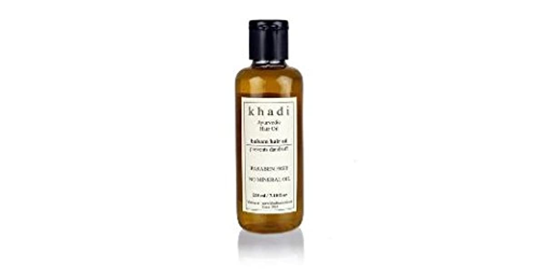 看板ご飯強盗Khadi Balsam Hair Oil - 210 ml