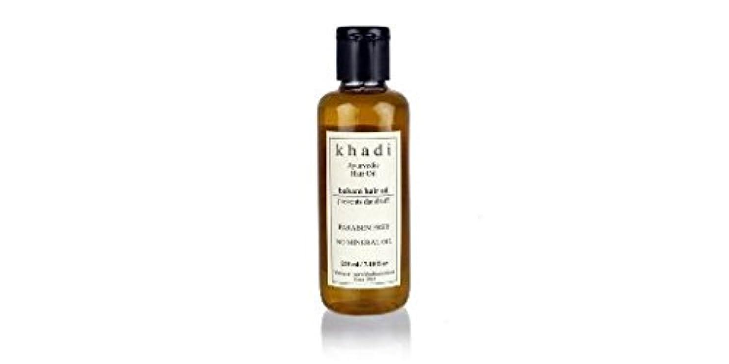 セマフォノーブルばかげているKhadi Balsam Hair Oil - 210 ml