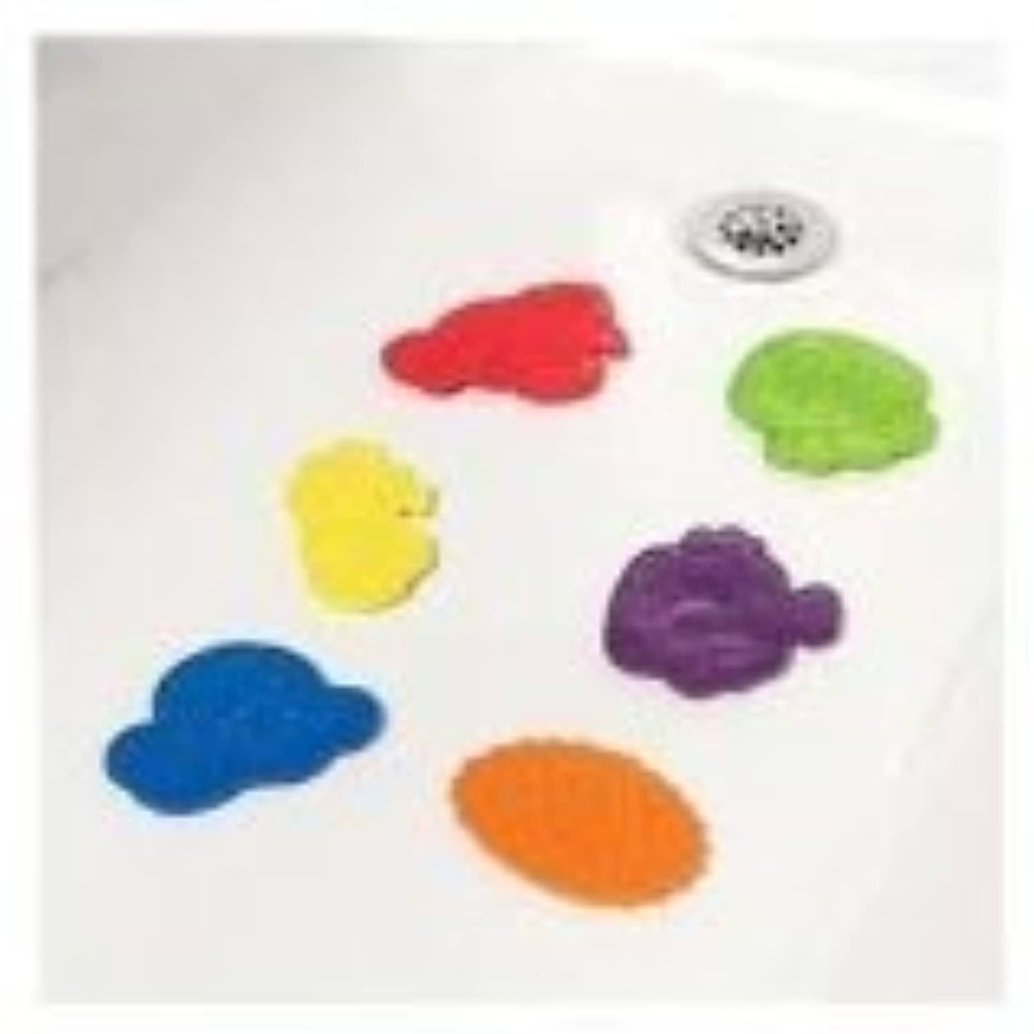 Safety 1st Secure Bath Grip Splash Pals - 6 Pack by Safety 1st [並行輸入品]