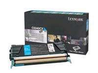 Lexmark c5340cx Lexmark Extra High Yield ReturnプログラムシアントナーカートリッジFo