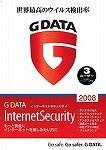 G DATA インターネットセキュリティ2008 3ユーザー