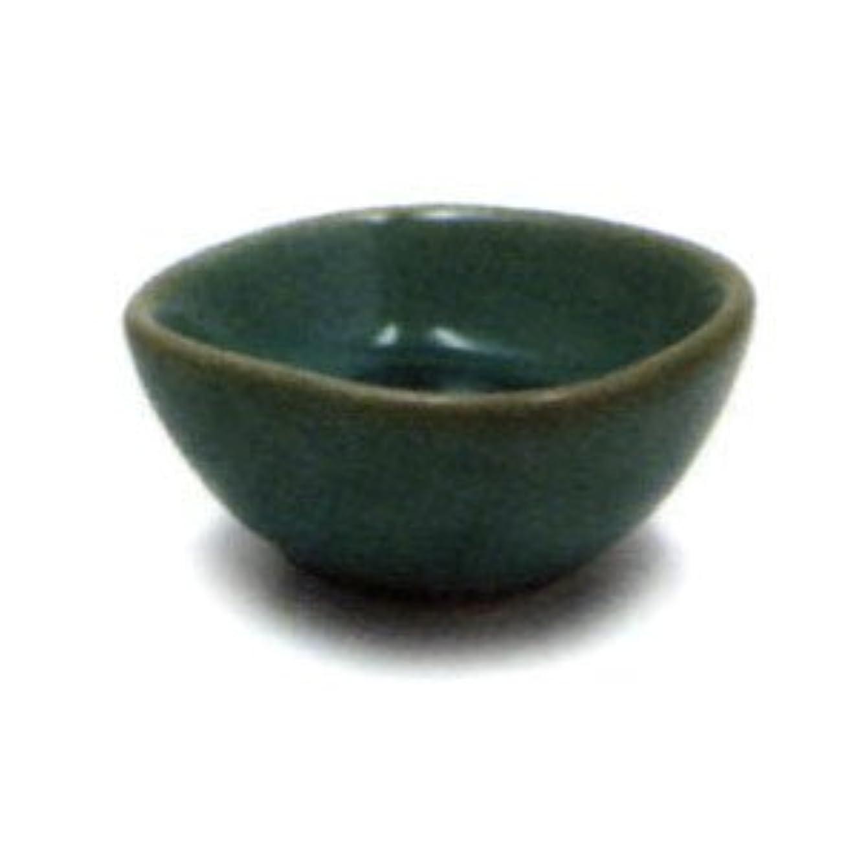 割り込み前投薬甘味響き香台 鉢 グリーン