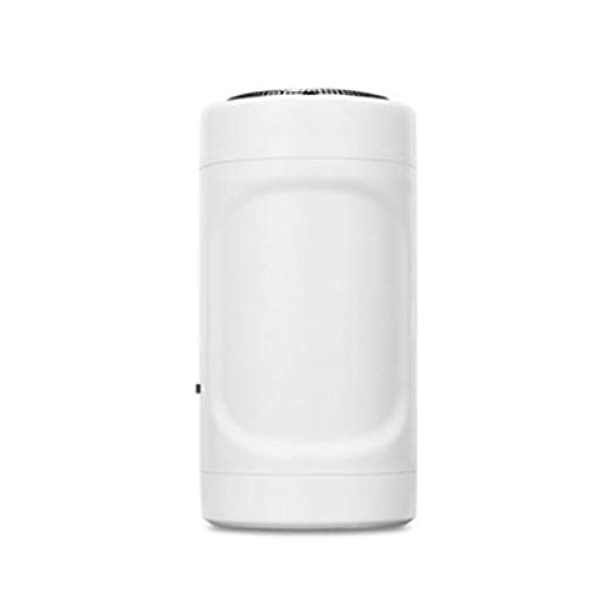 スマイルオーストラリア人怒りミニシェーバーUSB Apple Androidミニ脱毛器屋外??旅行懐中電灯ミニポケット(ホワイト)