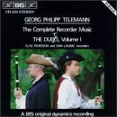 Complete Recorder Duos by G.P. Telemann