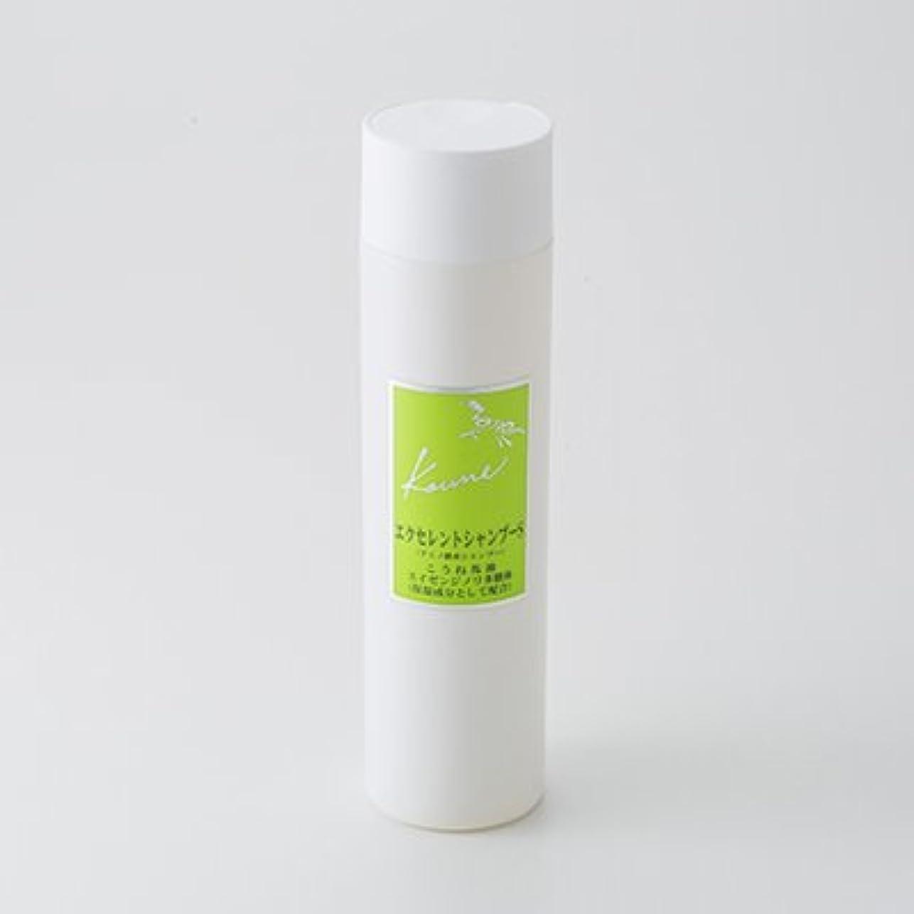 派生する分子爆発物こうねエクセレントシャンプーS(2本セット) 福岡県 髪のハリ?コシがよみがえる馬油シャンプー