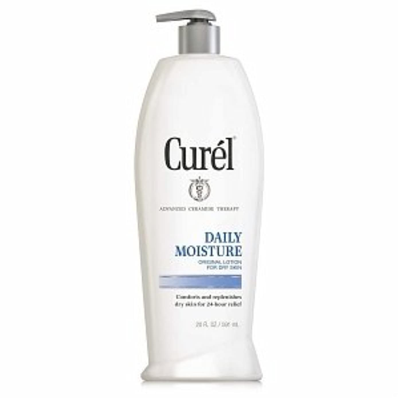 シルエットする情熱的Curel Daily Moisture Original Lotion for Dry Skin - 13 fl oz  ポンプ式