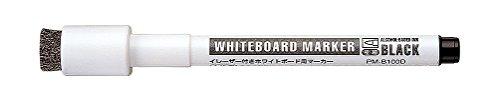 コクヨ ホワイトボード用マーカー イレーザー・マグネット付 PM-B100D 黒
