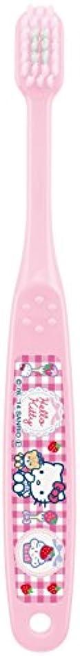 迷惑半球帽子スケーター ハイクオリティ 歯ブラシ 園児用 ハローキティ カップケーキ TBH0