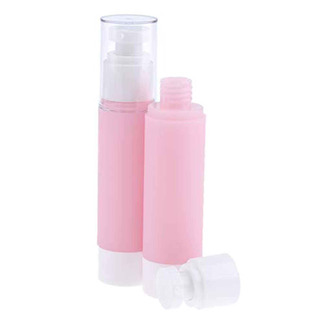静める大砲エゴイズムF Fityle 2個 スプレーボトル 化粧品容器 空ボトル メイクアップ エアレスポンプボトル 4サイズ選べ - 100ミリリットル