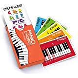 Made With Tone, Piano Chords Flash Cards, a Great Gift for Music Lovers and Beginner Musicians All The Major Chords and Notes for Keyboard
