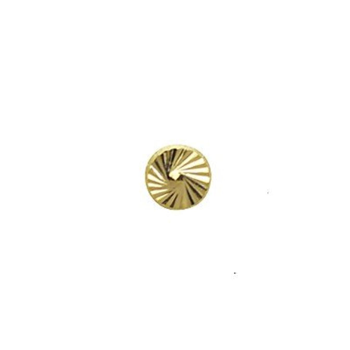 英語の授業があります厚さ旋律的SHAREYDVA ネイルパーツ サンシャインスタッズ ゴールド 4mm 20P