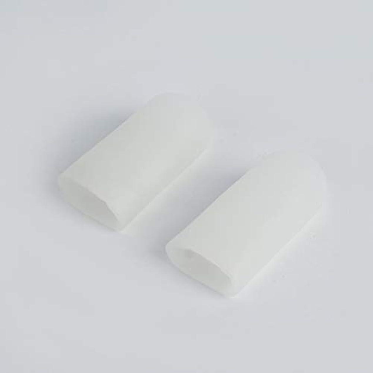 ファーム母性列車Open Toe Tubes Gel Lined Fabric Sleeve Protectors To Prevent Corns, Calluses And Blisters While Softening And...