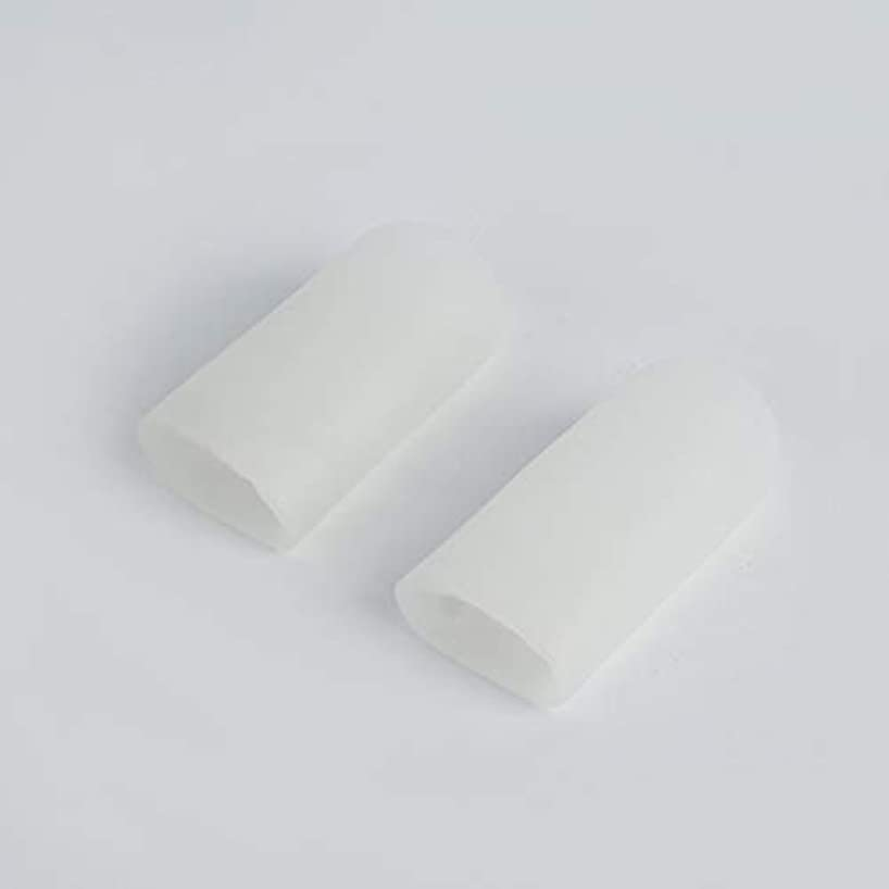 道に迷いました薄暗い傑作Open Toe Tubes Gel Lined Fabric Sleeve Protectors To Prevent Corns, Calluses And Blisters While Softening And...